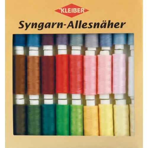 710-13 Kleiber Набор швейных ниток № 60, 100% полиэстер, 30шт по 100м в упаковке фото 1