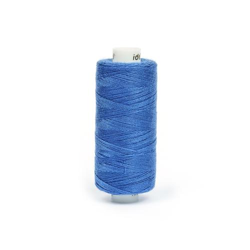 Нитки бытовые IDEAL 40/2 366м 100% п/э, цв.260 синий фото 1