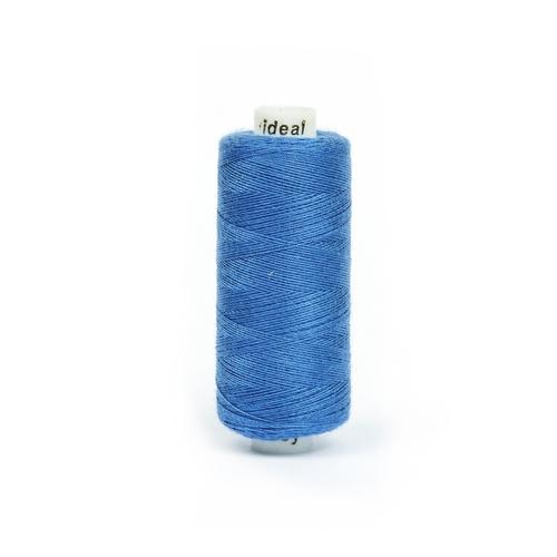 Нитки бытовые IDEAL 40/2 366м 100% п/э, цв.263 синий фото 1