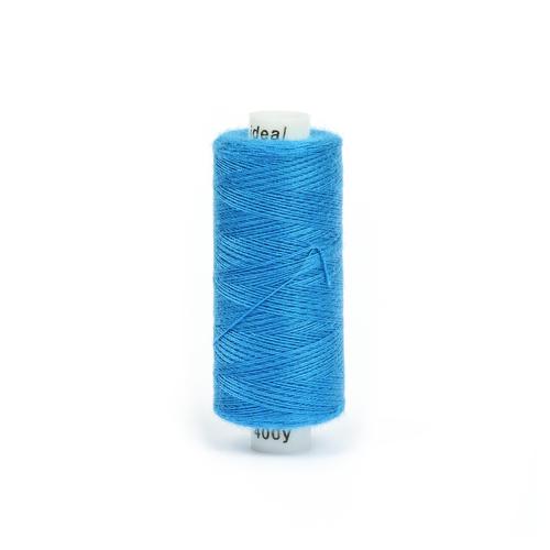 Нитки бытовые IDEAL 40/2 366м 100% п/э, цв.275 синий фото 1
