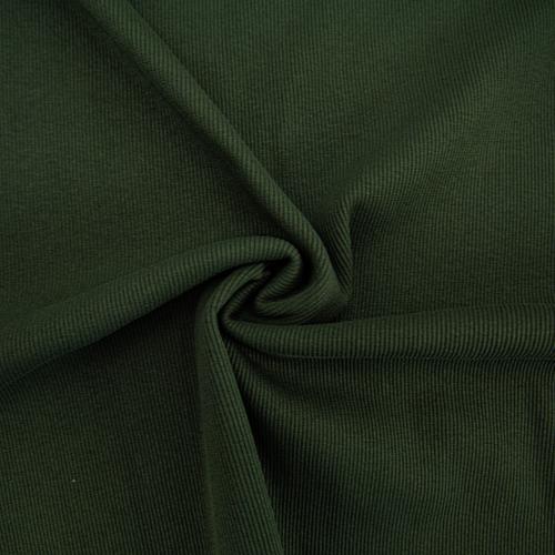 Ткань на отрез кашкорсе с лайкрой 5802-1 цвет темный хаки фото 2
