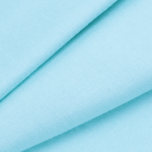 Мерный лоскут кулирка гладкокрашеная карде 6638 цвет ментол фото 1