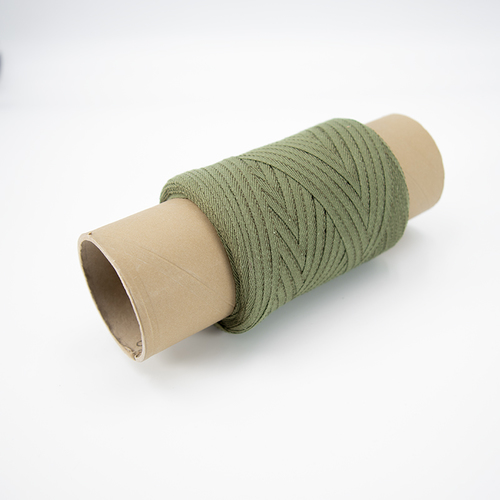 Тесьма киперная 5 мм хлопок 1,9г/см арт.ЛКЭ-5ХХ-100 цв.хаки фото 1