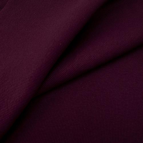 Ткань на отрез кашкорсе с лайкрой цвет темно-бордовый фото 1