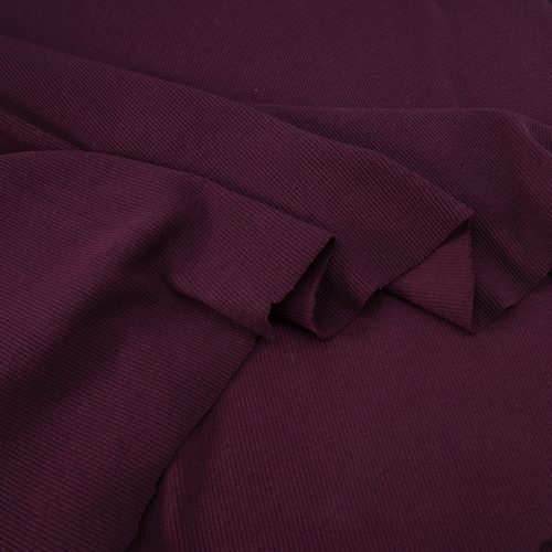 Ткань на отрез кашкорсе с лайкрой цвет темно-бордовый фото 3