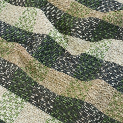 Плед Рогожка 100% ПАН 500 гр цвет зеленый 150/210 см фото 4