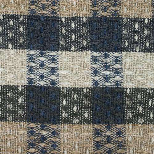 Плед Ромбики 100% ПАН 500 гр цвет синий 150/210 см фото 2
