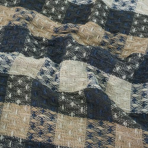 Плед Ромбики 100% ПАН 500 гр цвет синий 150/210 см фото 4
