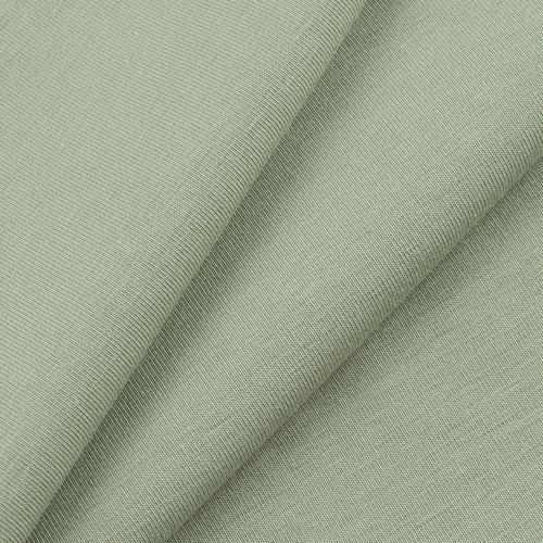 Ткань на отрез кулирка 571-1 цвет фисташковый фото 1