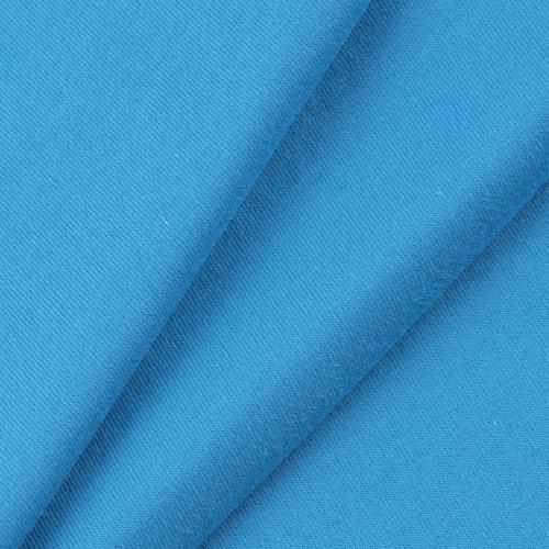 Ткань на отрез кулирка гладкокрашеная карде М-2089 бирюзовый фото 1