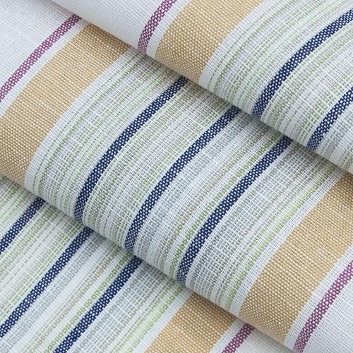 Ткань на отрез полулен полотенечный 50 см 3/48/77 Полоса тициан зеленый 703096 фото 4