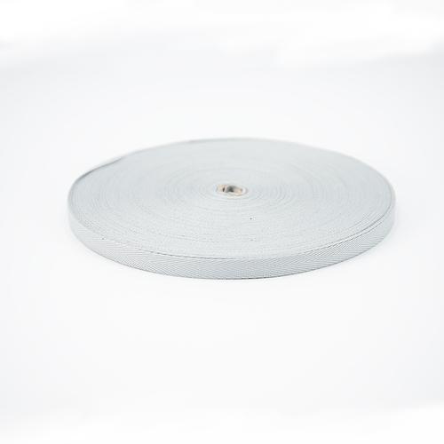 Тесьма киперная 10 мм хлопок 1,8г/см арт.08с-3495 цв.св.серый 040 фото 1