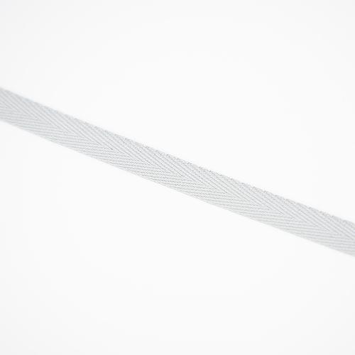 Тесьма киперная 10 мм хлопок 1,8г/см арт.08с-3495 цв.св.серый 040 фото 2