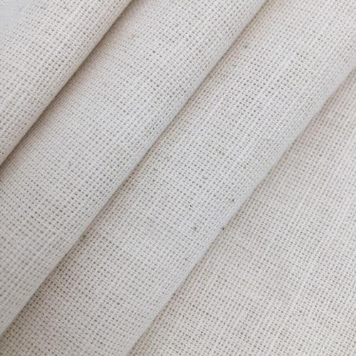 Ткань на отрез полулен 220 см полувареный цвет серый фото 1