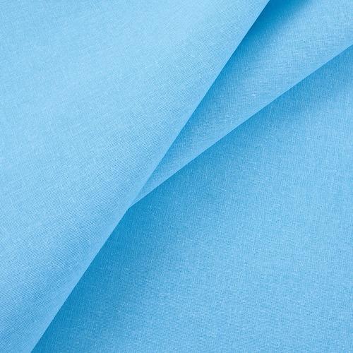 Ткань на отрез бязь гладкокрашеная ГОСТ 150 см цвет бирюзовый фото 1