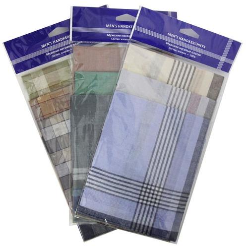 Платки носовые элитные мужские 45400(3) 3 шт фото 1