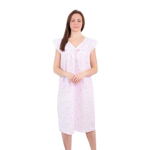 Сорочка женская бязь вид 2 1553/3А размер 52-54 фото 1