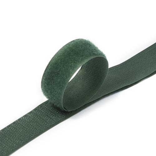 Лента-липучка 25 мм 1 м цвет F273 зеленый фото 1