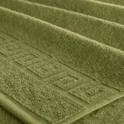 Полотенце махровое Туркменистан 40/65 см цвет оливковый фото 1