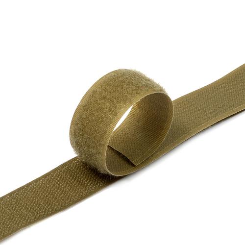 Лента-липучка 25 мм 25 м цвет F297 (287) кор-серый фото 1