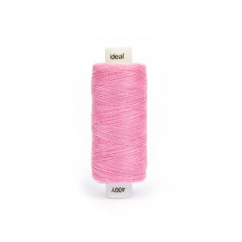 Нитки бытовые IDEAL 40/2 366м 100% п/э, цв.179 розовый фото 1