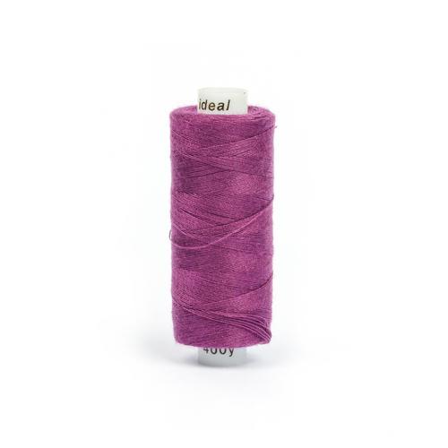 Нитки бытовые IDEAL 40/2 366м 100% п/э, цв.193 фиолетовый фото 1