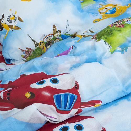 Детское постельное белье из бязи 1.5 сп 10645/1 Воздушный патруль фото 4