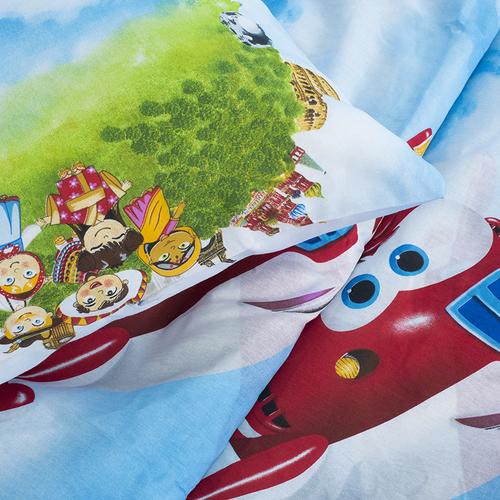 Детское постельное белье из бязи 1.5 сп 10645/1 Воздушный патруль фото 3