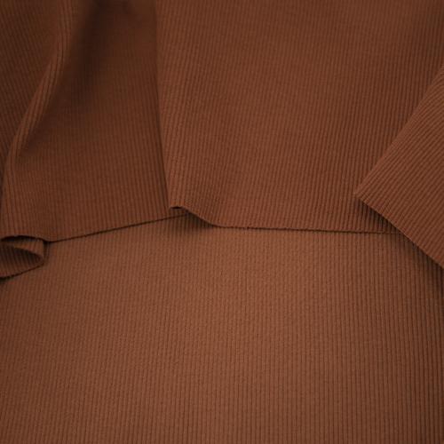 Ткань на отрез кашкорсе 3-х нитка с лайкрой цвет карамель фото 2