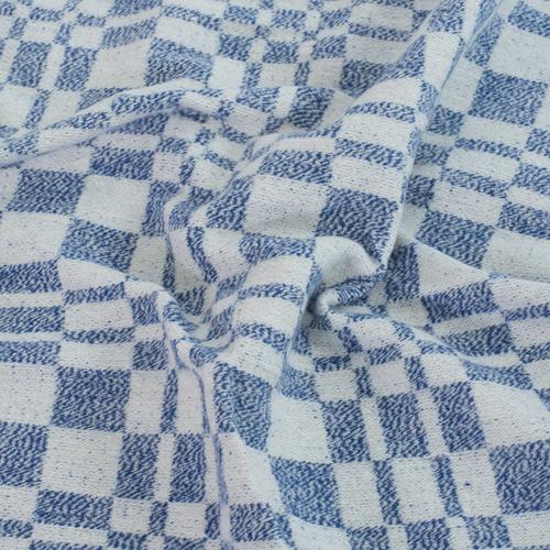 Одеяло байковое детское 100/140 цвет синий фото 3