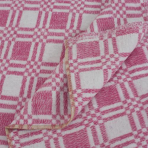Одеяло байковое детское 100/140 цвет розовый фото 2