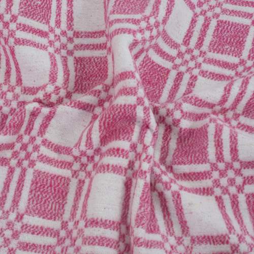 Одеяло байковое детское 100/140 цвет розовый фото 3