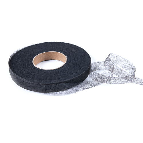 Клеевая лента 2см*90ярд чёрная фото 1