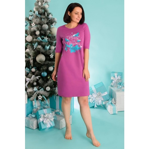 Платье 0777 цвет Лиловый р 50 фото 1