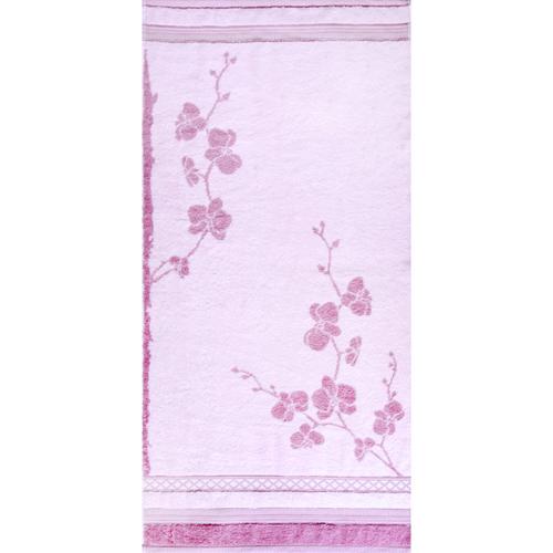 Полотенце махровое Rametto ПЦ-634-1250 50/100 см цвет розовый фото 1
