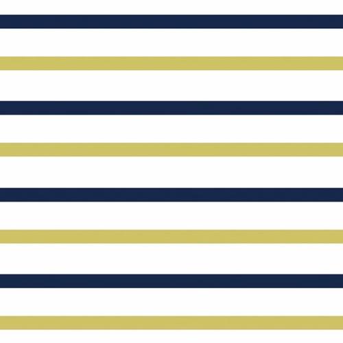Ткань на отрез интерлок пенье Двухцветная полоска 58-18 фото 1