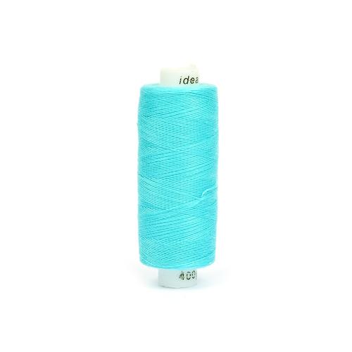 Нитки бытовые IDEAL 40/2 366м 100% п/э, цв.413 голубой фото 1