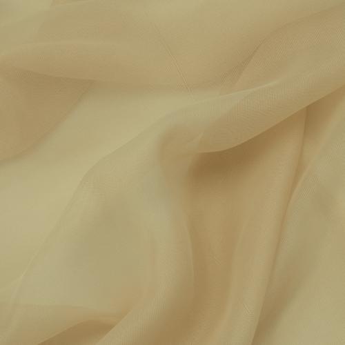 Мерный лоскут вуаль 280 см цвет 23 бежевый от 1 м фото 5