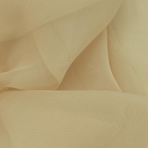 Мерный лоскут вуаль 280 см цвет 23 бежевый от 1 м фото 2
