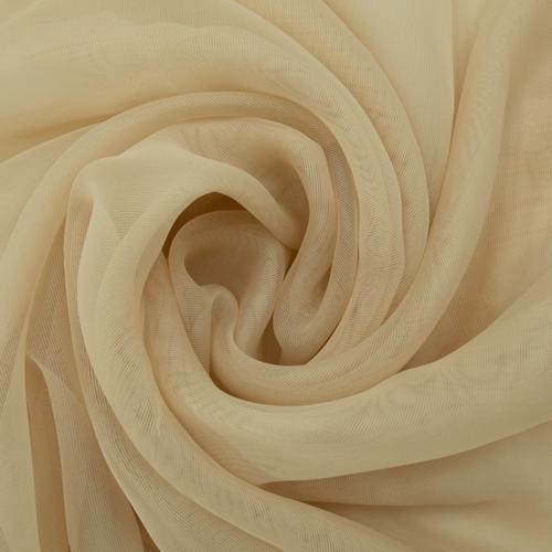 Мерный лоскут вуаль 280 см цвет 23 бежевый от 1 м фото 1