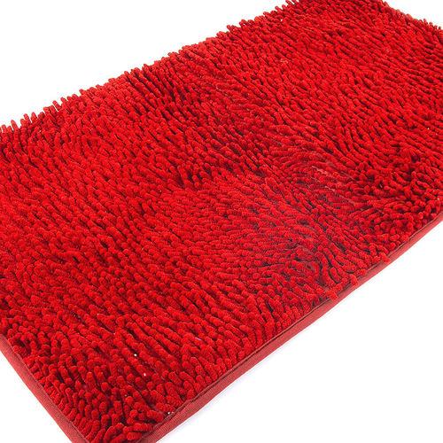 Коврик для ванной Makaron 50/80 цвет красный фото 3
