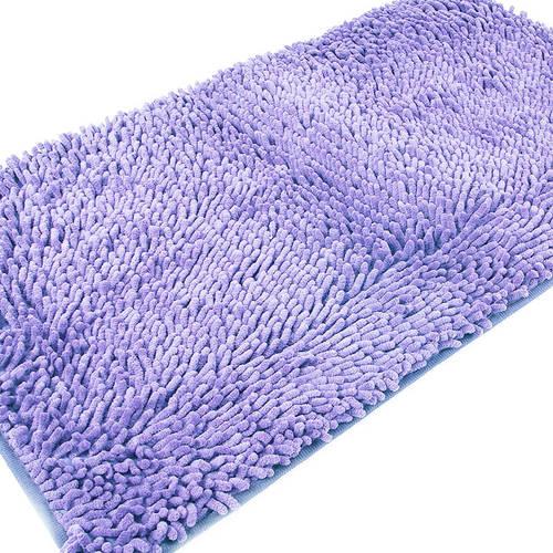 Коврик для ванной Makaron 50/80 цвет сиреневый фото 3