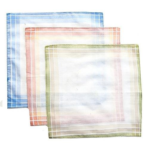 Платки носовые мужские 29х29 Амин расцветки в ассортименте 12 шт фото 6