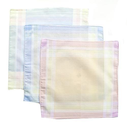 Платки носовые мужские 40х40 Амин расцветки в ассортименте 12 шт фото 4