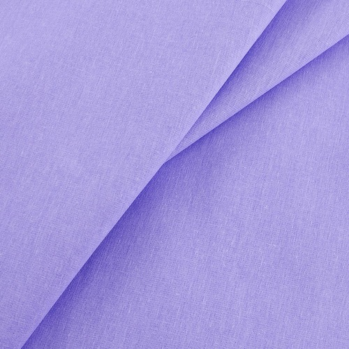 Бязь гладкокрашеная 120гр/м2 220 см на отрез цвет сирень фото 1