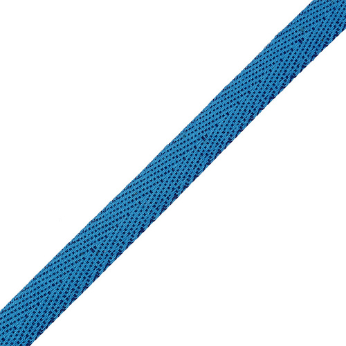 Тесьма киперная 10 мм хлопок 1.8 гр/см цвет 032 синий фото 1