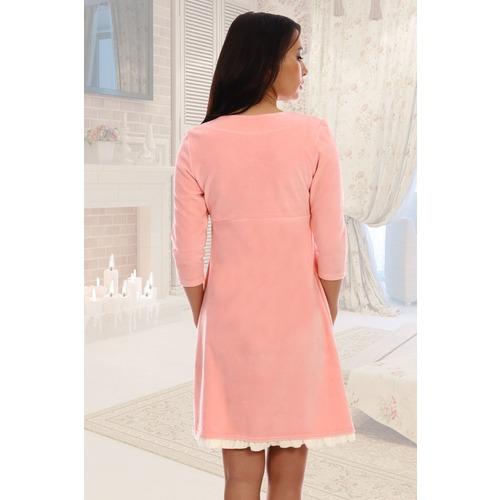 Халат Бенни 6185 цвет розовый р 44 фото 4