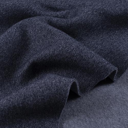 Мерный лоскут футер 3-х нитка компакт пенье меланж цвет синий 6.2 м фото 4