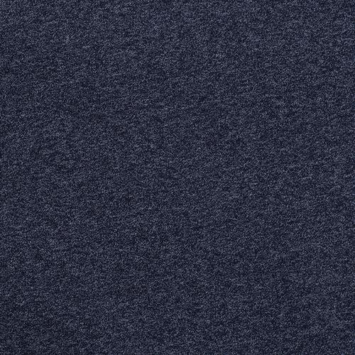 Мерный лоскут футер 3-х нитка компакт пенье меланж цвет синий 6.2 м фото 3