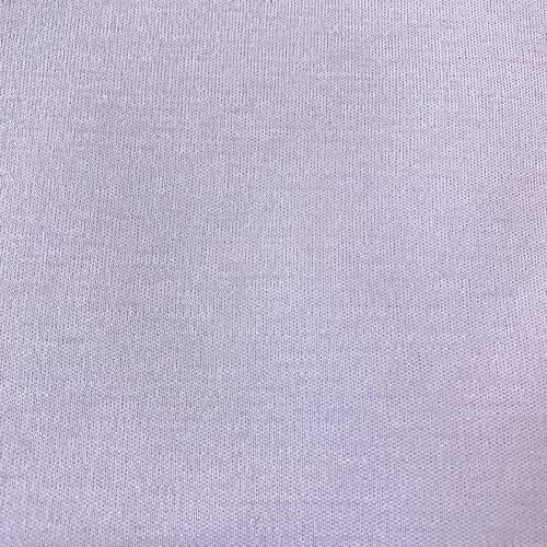 Мерный лоскут интерлок цвет светло-сиреневый 1 м фото 1